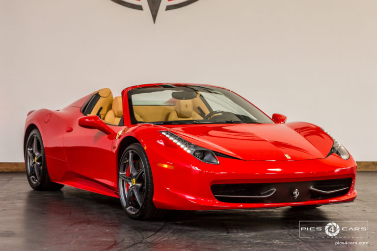 Ferrari 458 Spyder for sale in San Diego